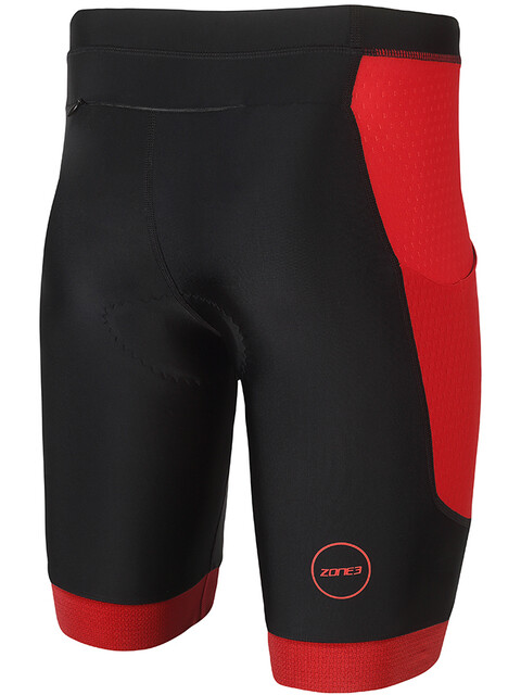 Zone3 Aquaflo Plus Shorts Men black/red
